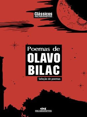 cover image of Poemas de Olavo Bilac