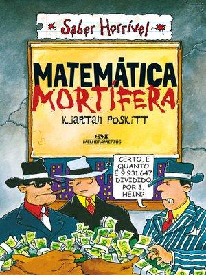 cover image of Matemática Mortífera
