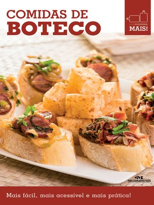cover image of Comidas de Boteco