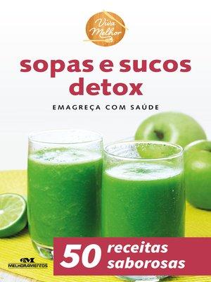 cover image of Sopas e Sucos Detox