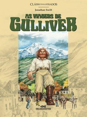 cover image of As viagens de Gulliver