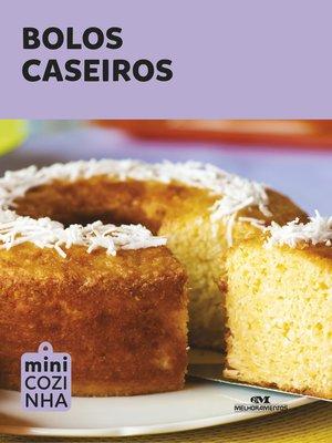 cover image of Bolos Caseiros
