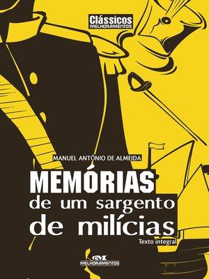 cover image of Memórias de um Sargento de Milícias