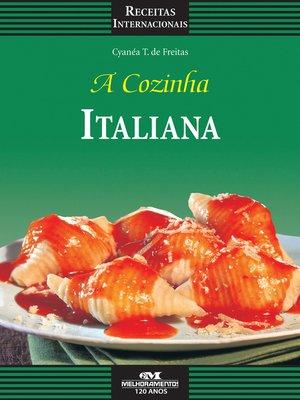 cover image of A Cozinha Italiana