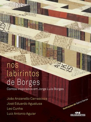 cover image of Nos Labirintos de Borges