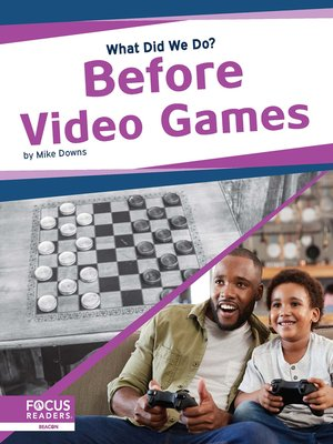 cover image of Before Video Games