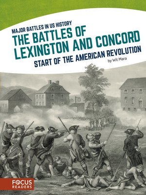 cover image of The Battles of Lexington and Concord
