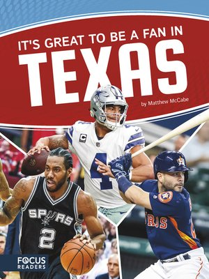 cover image of It's Great to Be a Fan in Texas