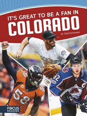 cover image of It's Great to Be a Fan in Colorado