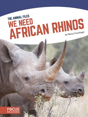 cover image of We Need African Rhinos