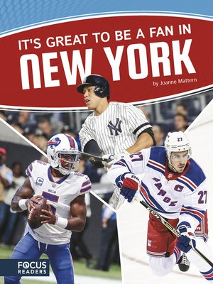 cover image of It's Great to Be a Fan in New York