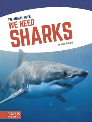 cover image of We Need Sharks
