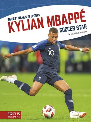 cover image of Kylian Mbappé