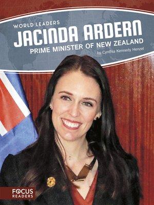 cover image of Jacinda Ardern