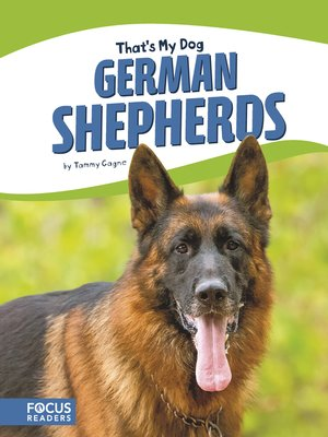 cover image of German Shepherds