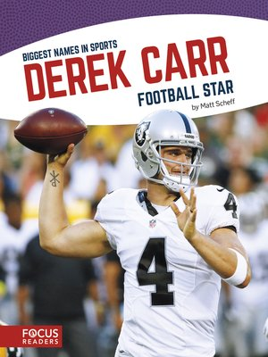 cover image of Derek Carr