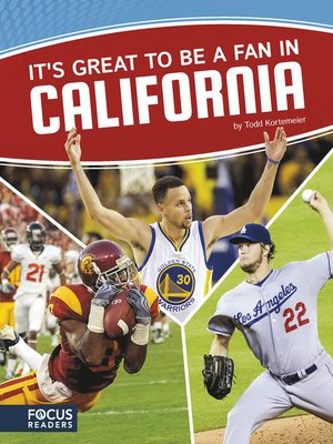 cover image of It's Great to Be a Fan in California