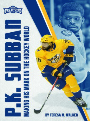 cover image of P.K. Subban