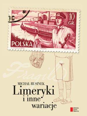 cover image of Limeryki i inne wariacje
