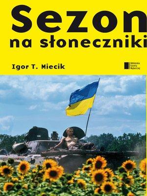 cover image of Sezon na słoneczniki