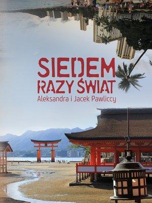 cover image of Siedem razy świat
