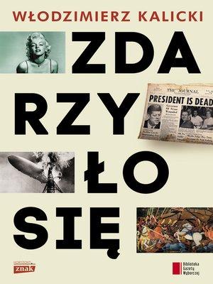 cover image of Zdarzyło się
