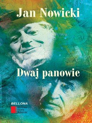 cover image of Dwaj panowie