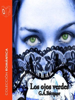 cover image of Los ojos verdes