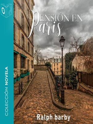 cover image of Pensión en Paris