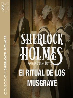cover image of El ritual de los Musgrave