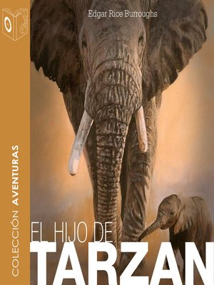 cover image of El hijo de Tarzán