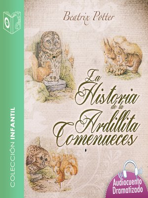 cover image of Historia de la ardillita Comenueces