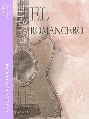 cover image of El romancero gitano