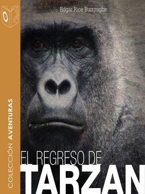 cover image of El regreso de Tarzán