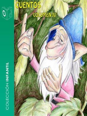 cover image of Cuentos, Volumen IV