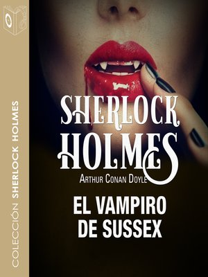 cover image of El vampiro de Sussex