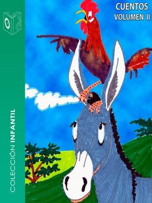 cover image of Cuentos, Volumen II