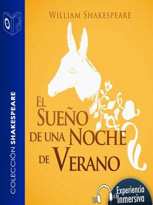 cover image of El sueño de una noche de verano