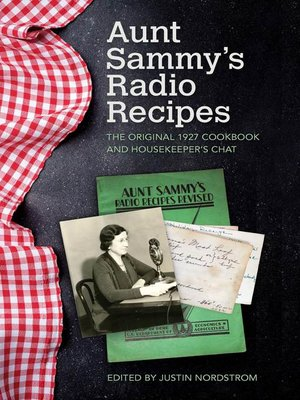 cover image of Aunt Sammy's Radio Recipes