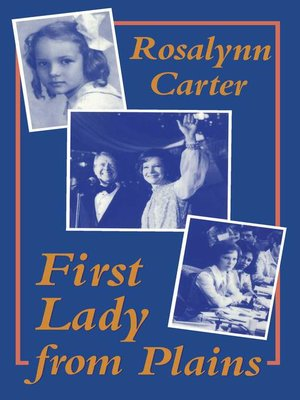 cover image of First Lady from Plains