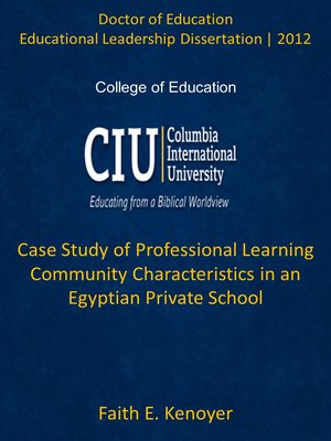 educational leadership dissertation topics