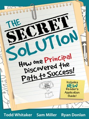 cover image of The Secret Solution
