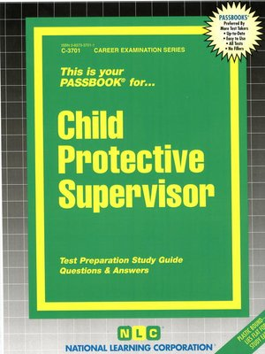 cover image of Child Protective Supervisor