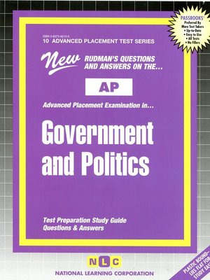 cover image of AP Government and Politics
