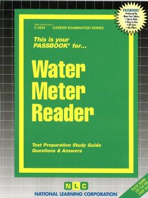 cover image of Water Meter Reader
