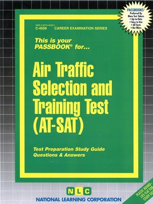 cover image of Air Traffic Selection and Training Test