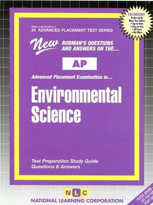 cover image of AP Environmental Science