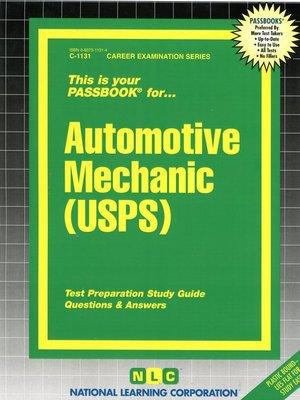 cover image of Automotive Mechanic (USPS)