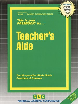 cover image of Teacher's Aide