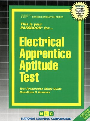 cover image of Electrical Apprentice Aptitude Test